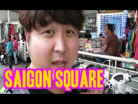 Vietnam Shopping Saigon Square