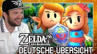 Das Spiel ist so SCHÖN! 🎇 Domtendos Reaktion auf den Übersichtstrailer zu Zelda Links Awakening HD