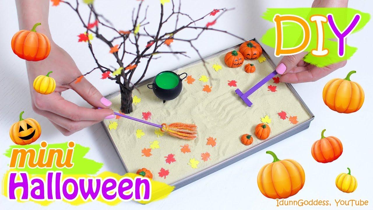 adorable making a zen garden at home. How To Make A Miniature Halloween Zen Garden  DIY Stress Relieving Desk Decoration