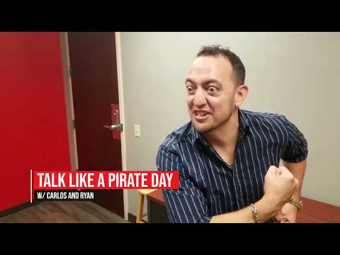 Monsters Blogs:  Carlos Blog (55247) - Talk Like A Pirate Day with Carlos and Ryan