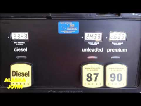 ALASKA GAS PRICES - Anchorage Alaska - July 8th 2016