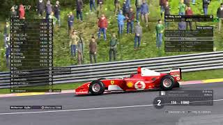 [FR] [F1 2017 PC] 03. Event Classic Cars  - Spa avec Lord Dam
