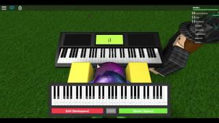 Roblox piano -Undertale NOTES IN DESC