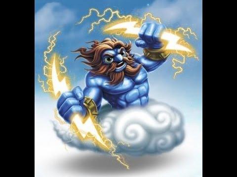 Skylanders Giants - Series 2 Lightning Rod - Typhoon Titan Path with Wow Pow