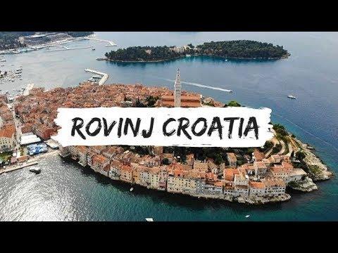 Rovinj Croatia - Nomadic Travel - Rovinj Croatia Drone Footage