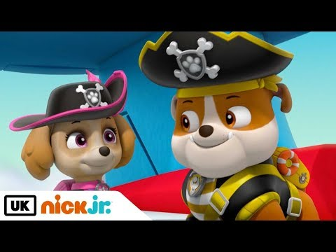 Paw Patrol | Pirate Pups to the Rescue Pt.1 | Nick Jr. UK