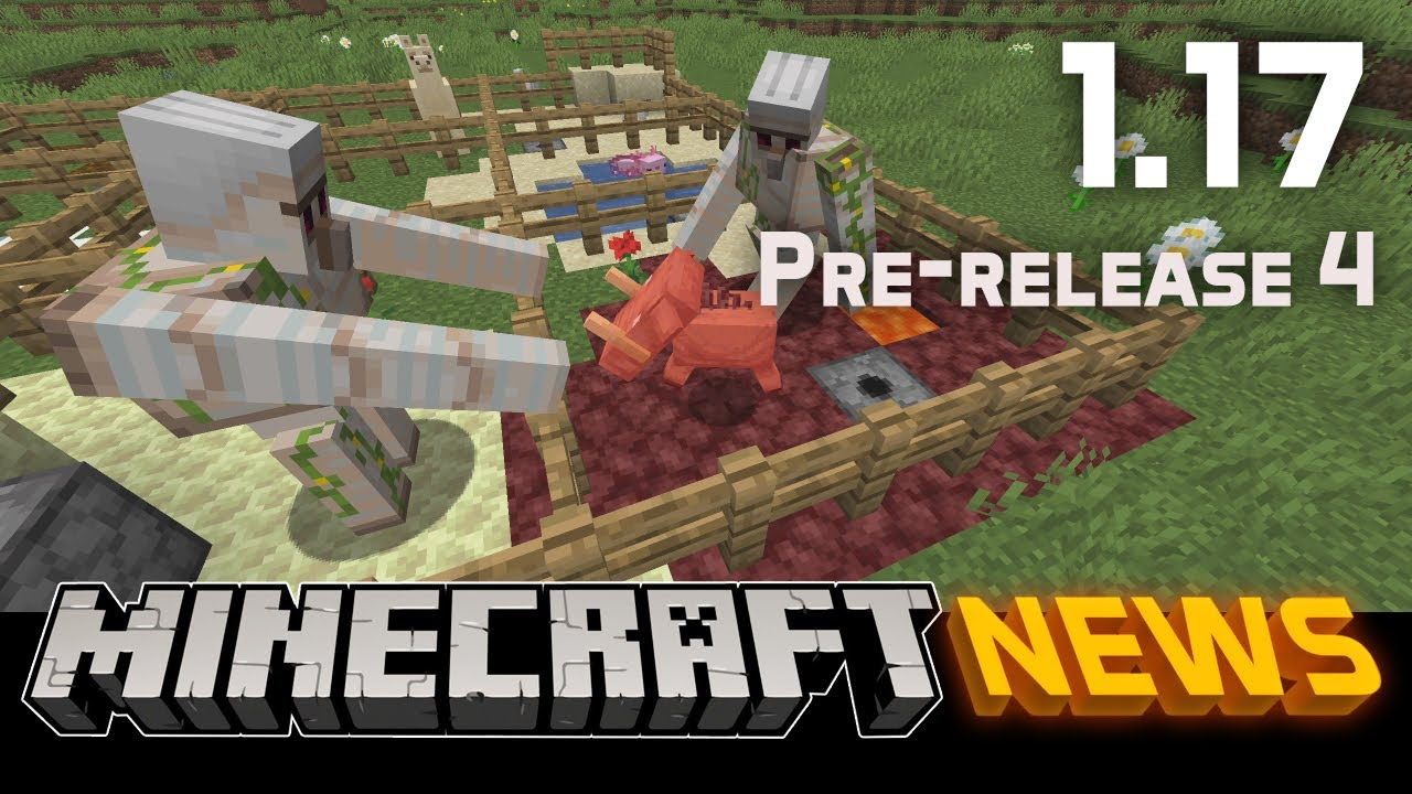 What's New in Minecraft 1.17 Pre-release 4?