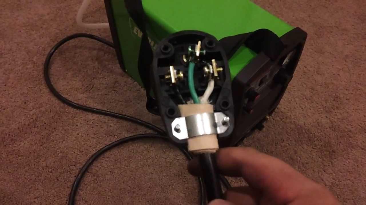 Everlast Powerplasma - Part 3  Wiring The Plug