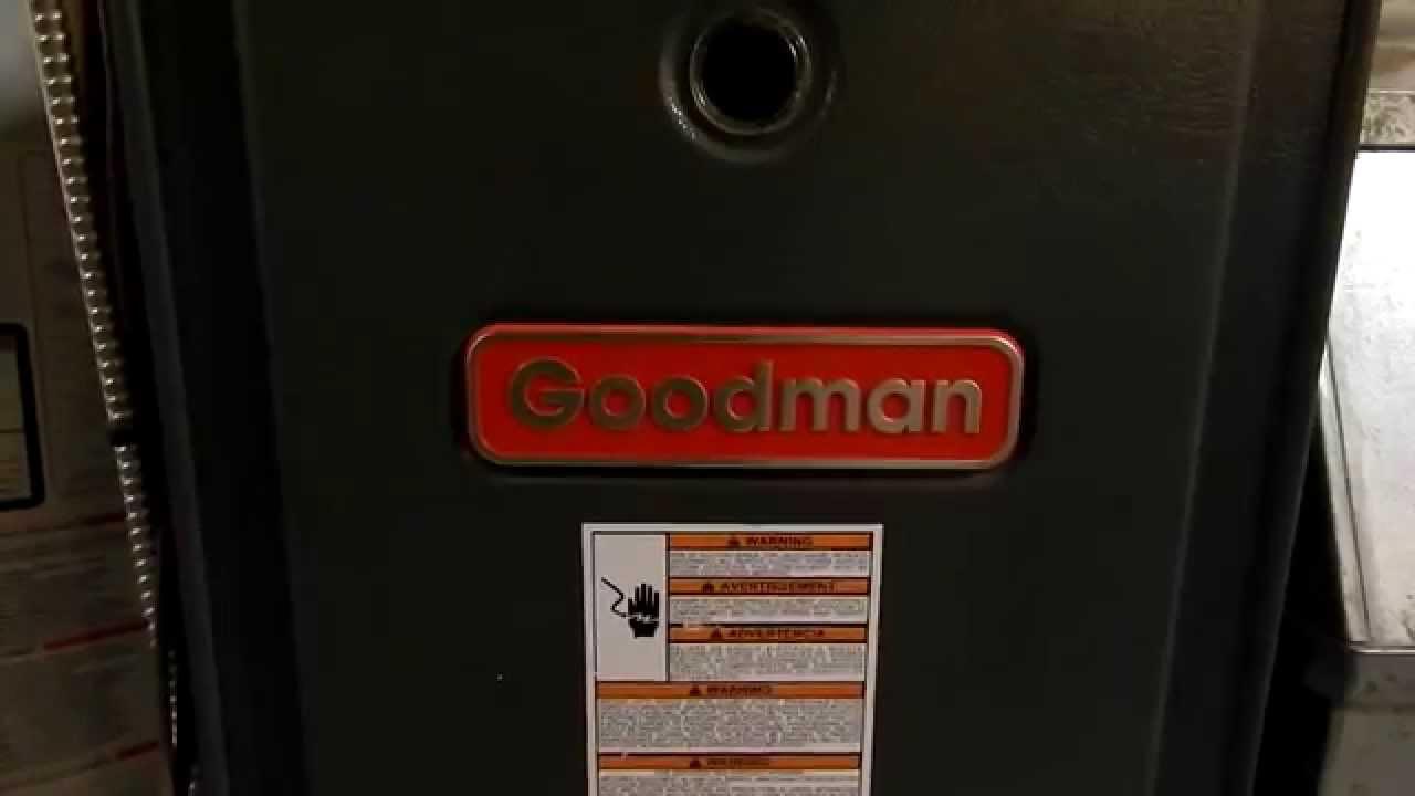 Goodman furnace repair*bad heat exchanger gasket* - YouTube