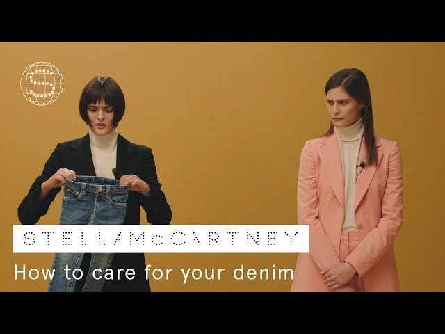 2. How to care for your denim | Stella McCartney