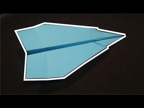 Cara membuat pesawat kertas Glider yang terbang hingga ratusan Meter