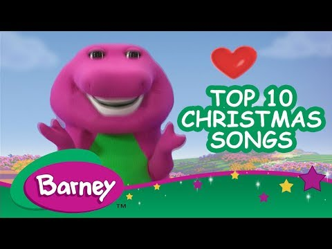 🌟 Barney's Top 10 Christmas Songs 🎄