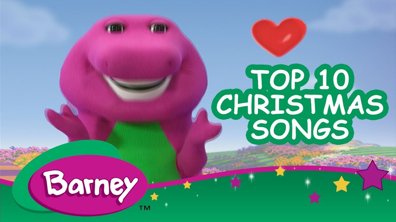 🌟 Barney\'s Top 10 Christmas Songs 🎄 - YouTube