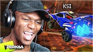 KSI PLAYS ROCKET LEAGUE! (Rocket League)