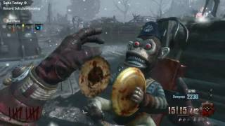 Origins World Record Attempt Full gameplay - Live Stream w/ Wheelio - Black Ops 2 Zombies Round 92