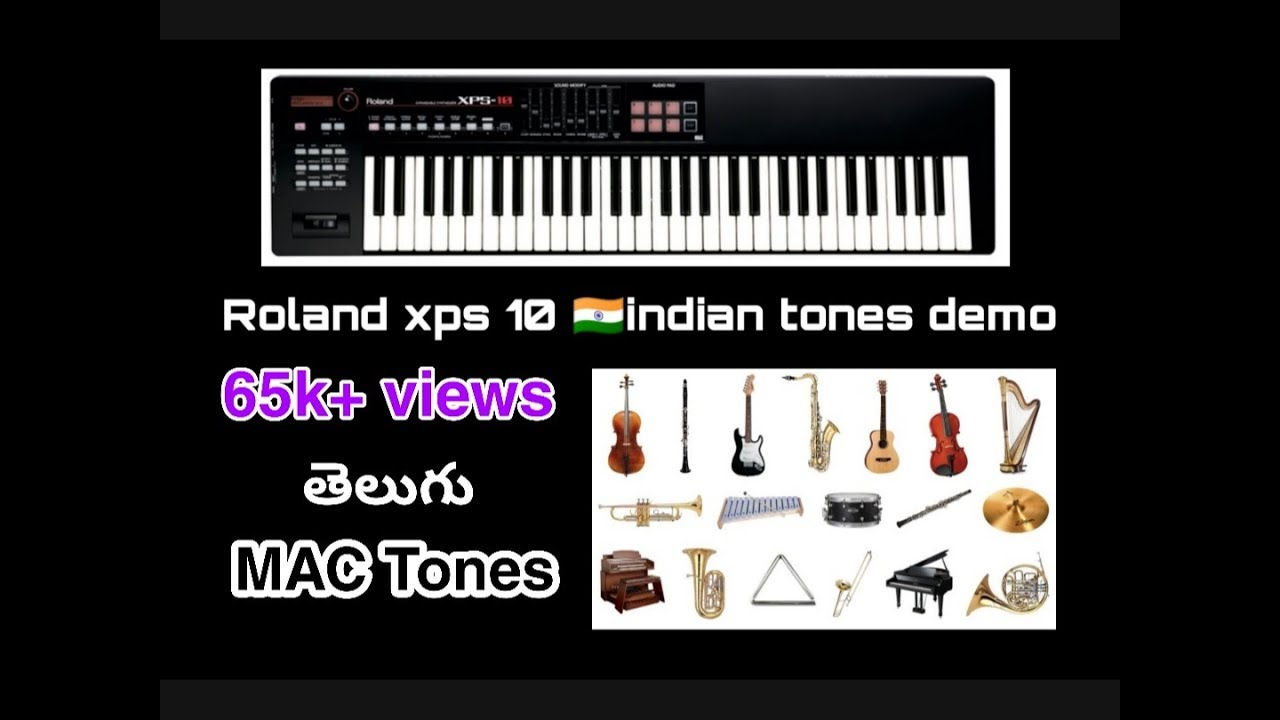 Roland XPS-10 Indian Tones 2018 sitar banjo har    - With Loop Control -  YouTube for Musicians