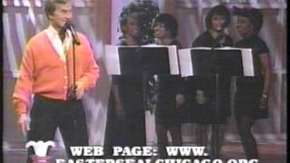 """Pat Boone performing """"No More Mr. Nice Guy"""" on the Easter Seal Celebration 1997"""