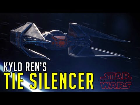 Kylo Ren's TIE Silencer Revealed | Star Wars News