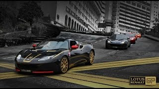3 x Lotus Evora + Exige S Uphill - awesome sound!
