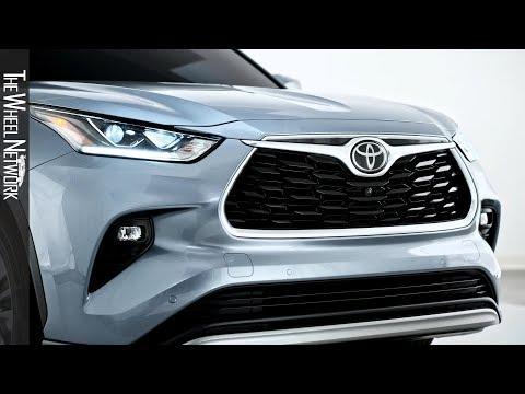 2020 Toyota Highlander – Exterior and Interior Details