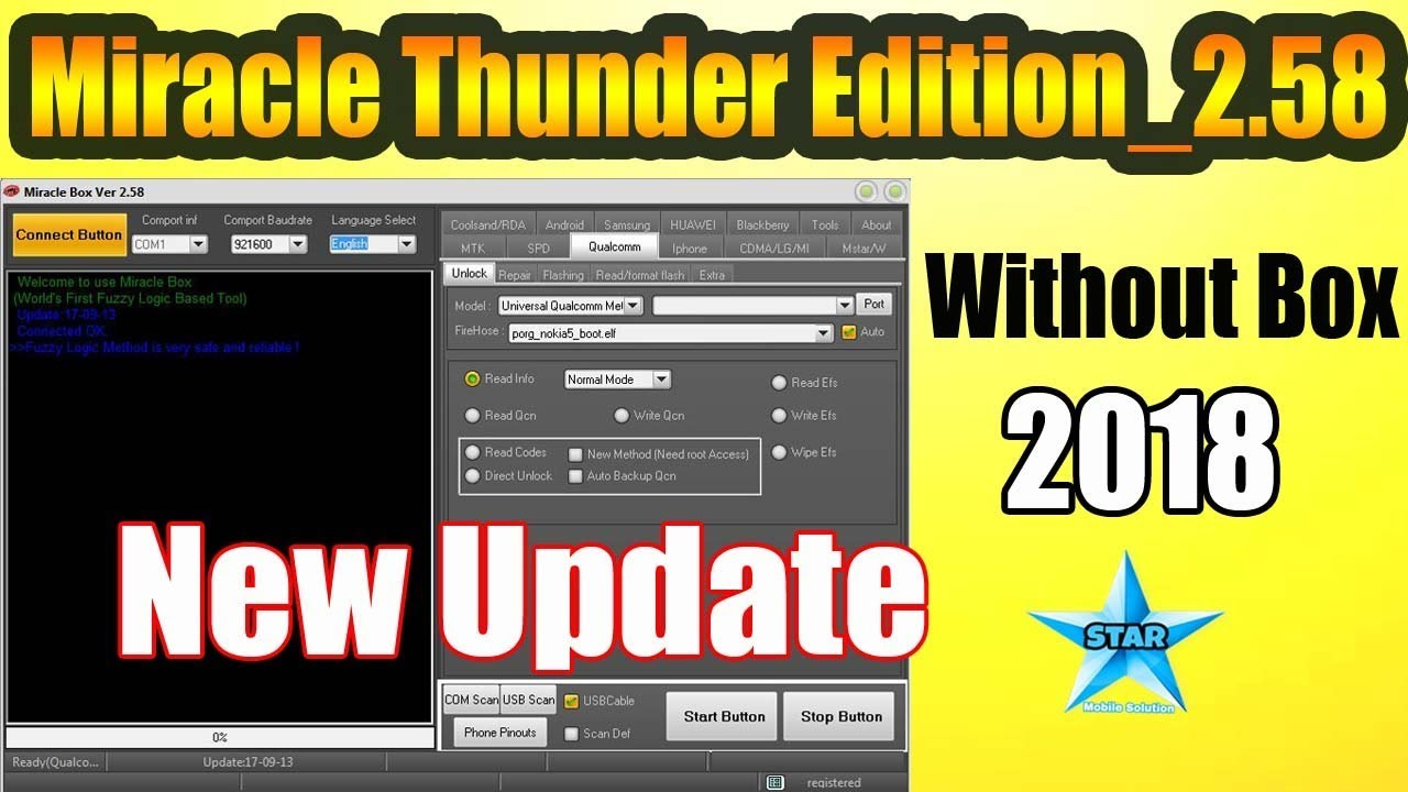 Miracle Thunder Edition 2 58 | New Update 2019 Bina Box ke | by Star Mobile  Solution