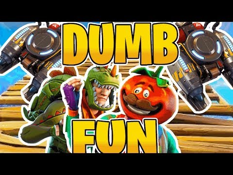2x JETPACK Dumb Fun! - Fortnite