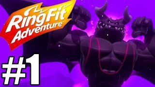 Ring Fit Adventure Gameplay Walkthrough Part 1 - World 1