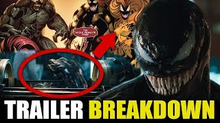 Venom Trailer Breakdown, Easter Eggs, And Things You May Have Missed