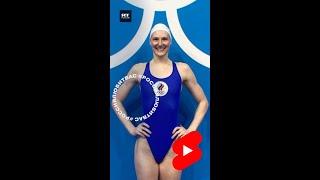 Светлана Ромашина - олимпийское золото в синхронном плавании в паре #shorts