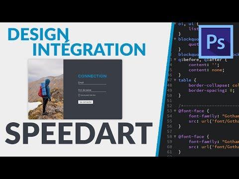 DESIGN & INTÉGRATION - Login Page | Mathieu Marquet