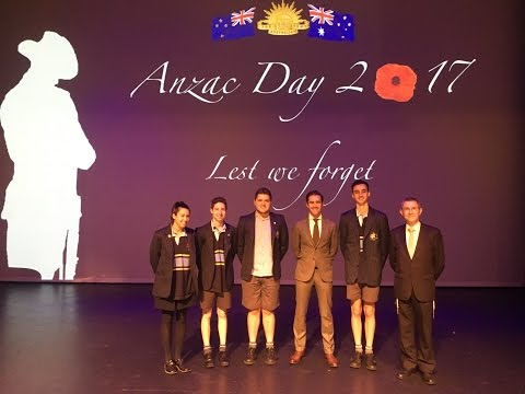 ANZAC Day Assembly 2017