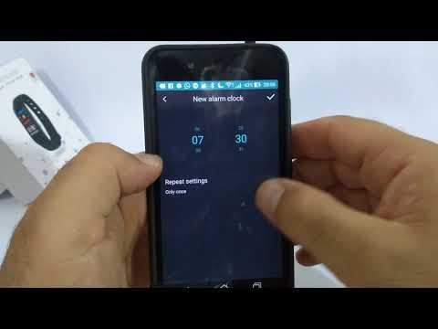 Smartband M3 (Funções e instalação)
