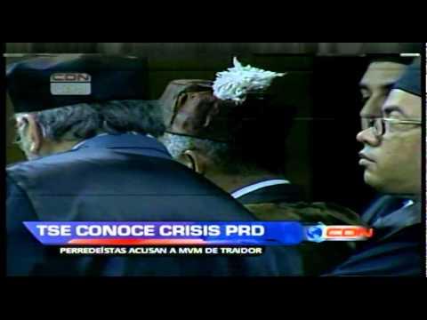 Perredeístas exigen la salida de Vargas Maldonado frente al TSE