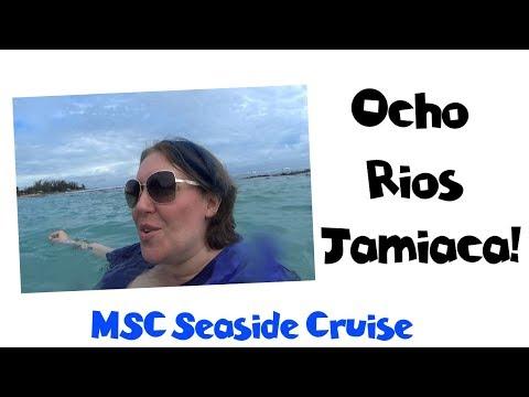 JAMAICA!! Private Tour to the Beach & Horseback Riding   MSC Seaside Cruise Vlog [ep11]