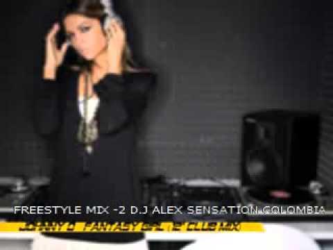 FREESTYLE MIX VOL- 2 WITH D.J ALEX SENSATION COLOMBIA 2013
