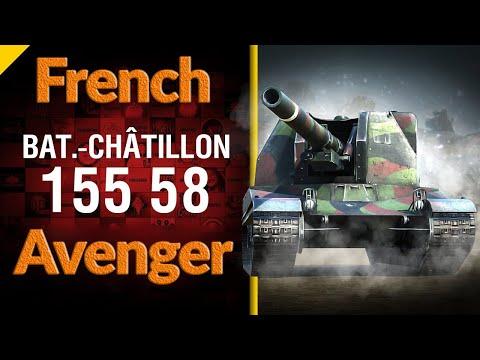 World of Tanks PS4 (Wot console) ⚔️ | Bat.-Châtillon 155 58 | wot replays | HarD1NeR
