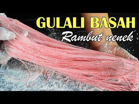 Gulali Basah Rambut Nenek | Jajanan Jadul Anti Gagal