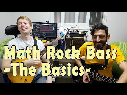 bass guitar in math rock - ideas, melody, progression