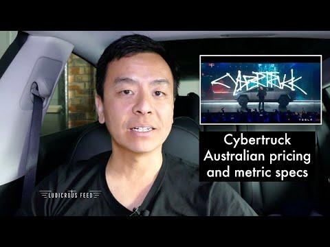 Tesla Cybertruck Australian Pricing And Metric Specs   Ludicrous Feed   Tesla Tom
