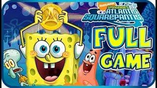 SpongeBob Atlantis SquarePantis Walkthrough Longplay FULL GAME (PS2, Wii)