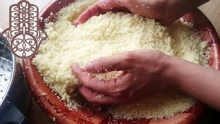 Comment préparer la semoule de couscous