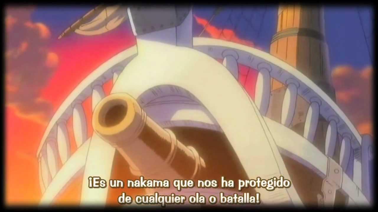 One Piece Going Merry La Muerte De Un Nakama Youtube
