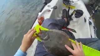 Kayak Fishing Fripp Inlet Beaufort South Carolina