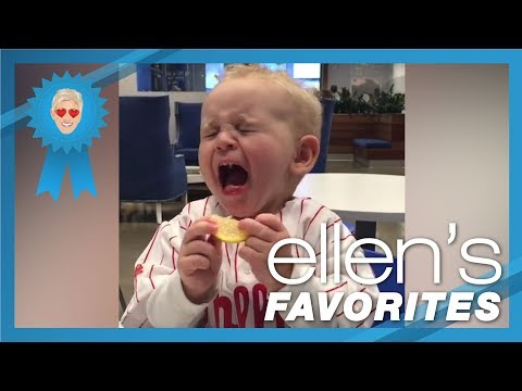 Ellen's Favorite Babies Trying Lemons for the First Time