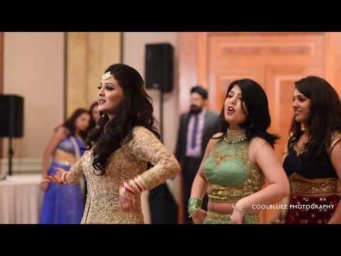 Bride Wedding Dance Performance | Medley Of Hit Bollywood Songs
