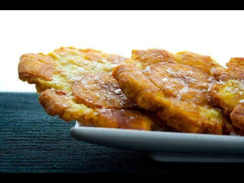 Patacones, Plátano Frito