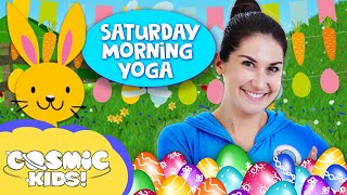 Peter Cottontail and the Tickly Monkeys: Saturday Morning Yoga | Cosmic Kids