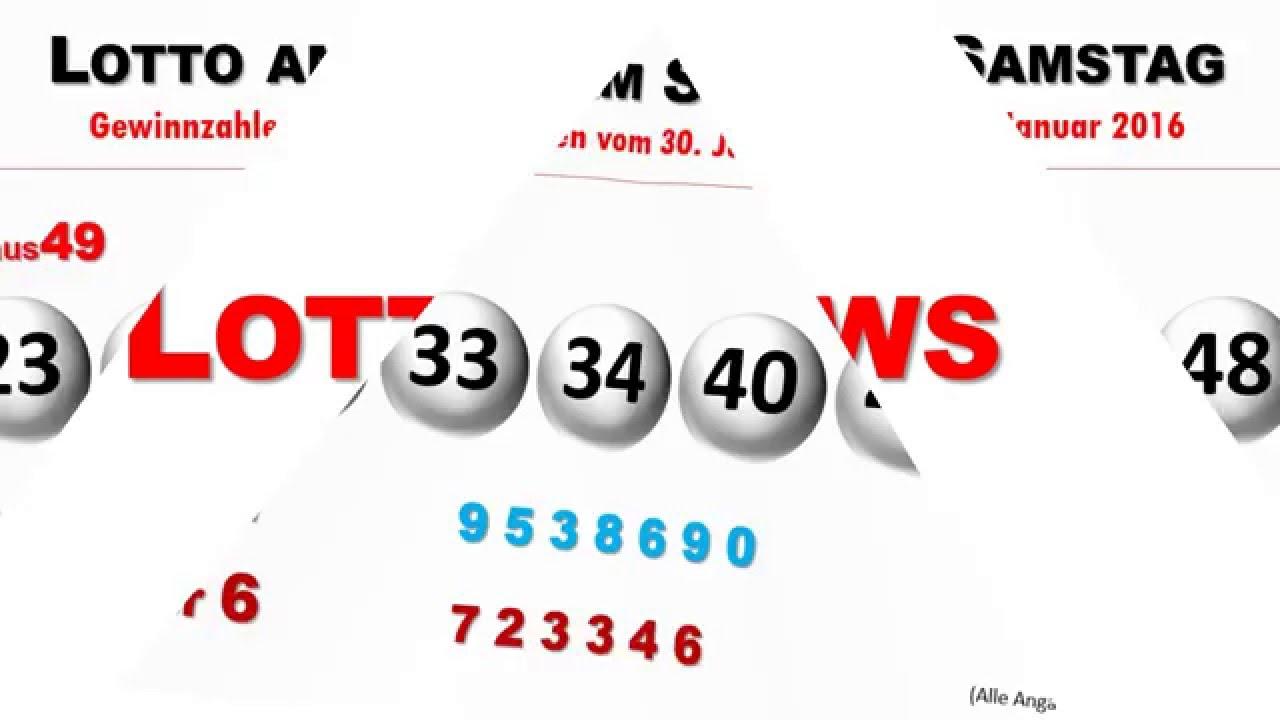 Lotto Vom Sonnabend