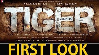 Tiger Zinda Hai First Look Salman Khan &  Katrina Kaif Is Back