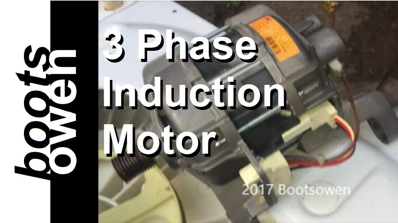 washing machine motor wiring explained (3 phase induction)ge wiring schematic wiring diagram 500